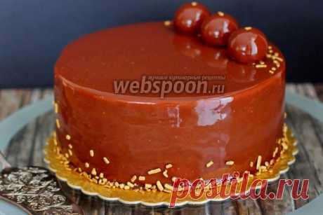 """Medovik in a new way \""""Evromedovik\"""" the recipe with a photo how to prepare on Webspoon.ru"""