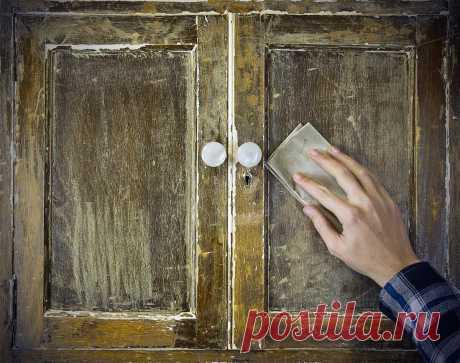 Как превратить деревянный шкаф в винтажную мебель?Советы от Петровича | СТД «Петрович» | Яндекс Дзен