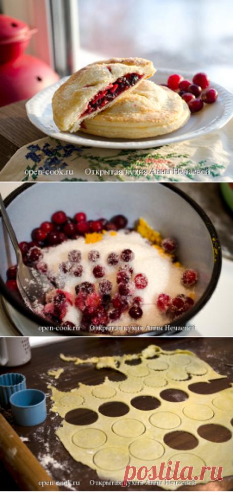 Пирожки с клюквой, пошаговый рецепт с фото
