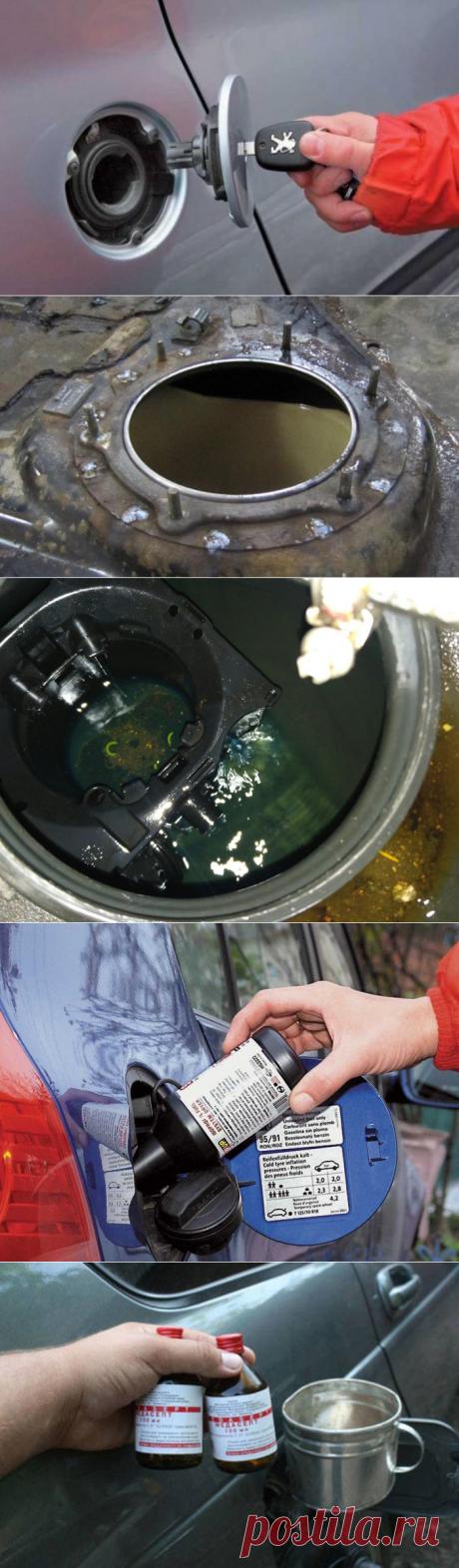 Как без лишних хлопот удалить воду из бензобака автомобиля — Лайфхаки