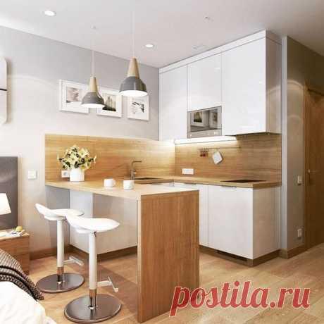El diseño hermoso de la cocina