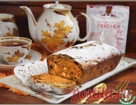 """Кекс """"Осенний ноктюрн"""" – кулинарный рецепт"""