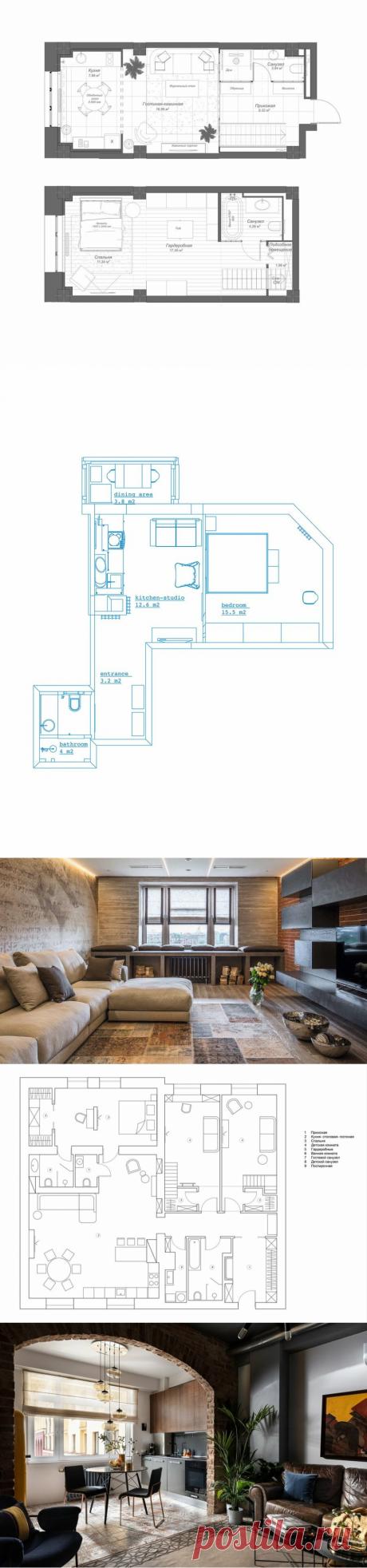 Как грамотная планировка может увеличить площадь квартиры почти вдвое | INMYROOM.RU | Яндекс Дзен