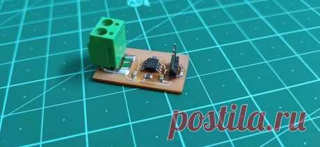 Датчик тока для Arduino Из этой статьи мы узнаем, как сделать датчик тока совместимый с Arduino и большинством других широко популярных микроконтроллеров. Этот проект отличается компактной конструкцией и схемой, основанной на SMD-компонентах.Этот датчик тока можно легко использовать для измерения до 15А и даже при пиковом
