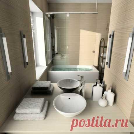 Примеры ванных комнат оформленных по фен-шуй | Роскошь и уют