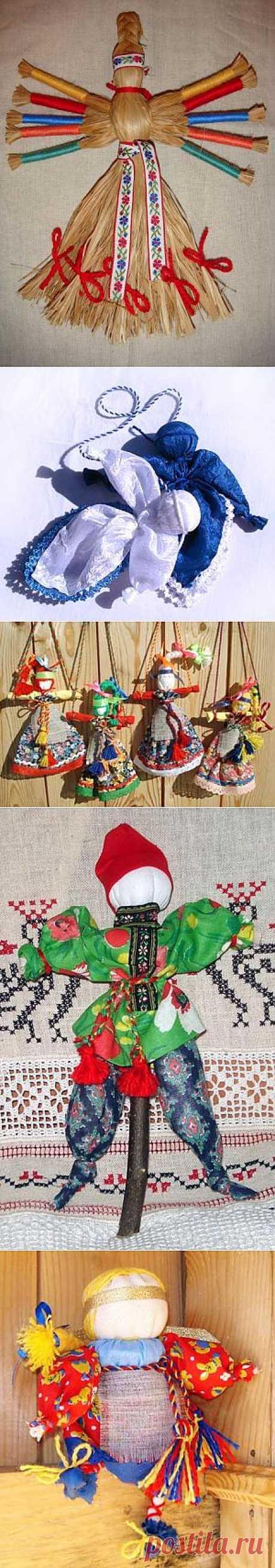 Куклы-обереги в Славянской культуре. Часть 1 / Разнообразные игрушки ручной работы / PassionForum - мастер-классы по рукоделию