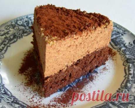 Шоколадный торт-мусс.