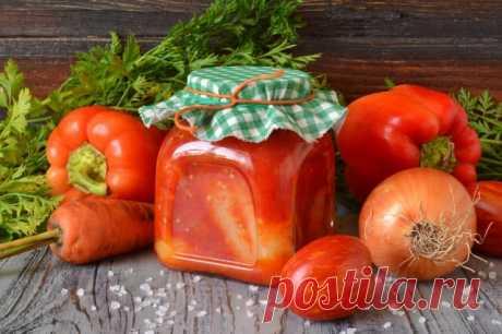 Фаршированный перец в томатном соусе на зиму. Пошаговый рецепт с фото - Ботаничка.ru