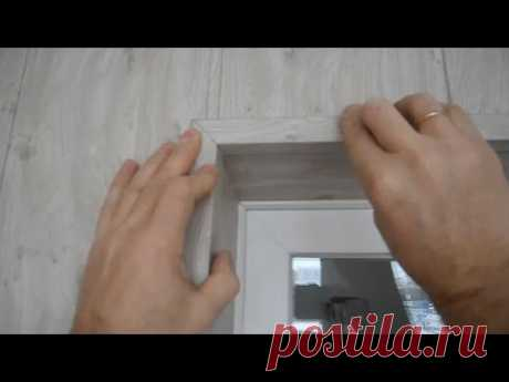 Как устанавливать внешние углы (откосы) для панелей МДФ