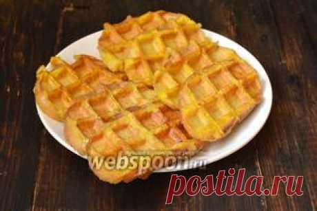 Гренки в вафельнице рецепт с фото, как приготовить на Webspoon.ru