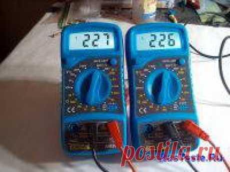 Мультиметр AN8205 из Китая | Самоделки своими руками В статье про самодельную третью руку я обещал рассказать про мультиметры, которые я долго ждал из Китая, сегодня провел небольшой тест и сделаю обзор.