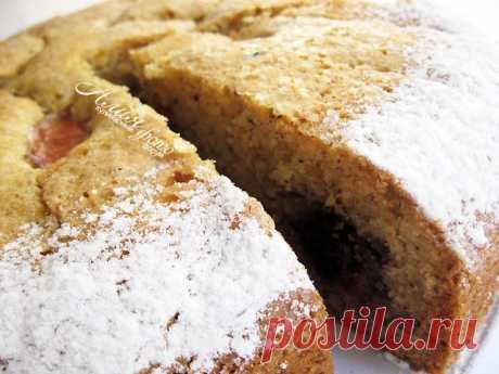 199. Тосканский сливовый пирог