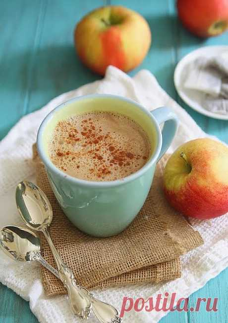"""InVkus: Apple tea with cinnamon (for heating mood)\u000d\u000aMy trouble is that I am man of moods. No, I do not break on people around, I do not laugh without the reason, surprising with people around, I cannot just get rid neither bad, nor good. If against good mood I have nothing, then from bad it is necessary to get rid until it to me let all day to nothing. Sheldon Cooper usually brought the warming drink and spoke: """"ну-ну"""". Generally, I divide the concept. Helps me. Here r"""