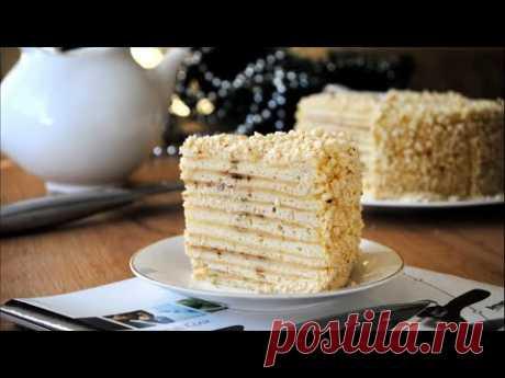 Быстрый Торт «НАПОЛЕОН» на Сковороде с Заварным Кремом🍰🌟Простой Рецепт Быстрого Торта 🌟 - YouTube