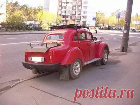 И снова сельский тюнинг или поколхозили на славу | Автострастный | Яндекс Дзен
