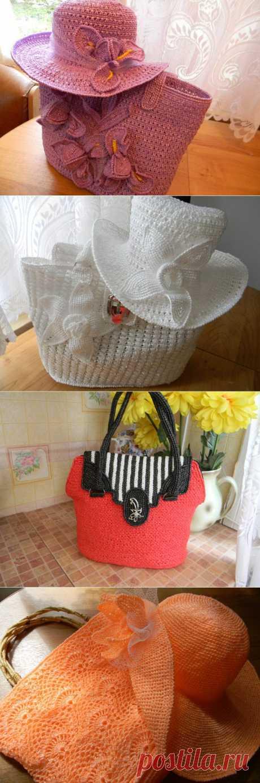 Сумочки из пакетов для мусора + мк | Варварушка-Рукодельница есть описание и схемка