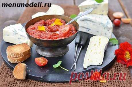 Рецепт соуса чатни из помидоров / Меню недели