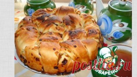 """Постный пирог """"Луковник"""" на рисовом отваре – кулинарный рецепт"""