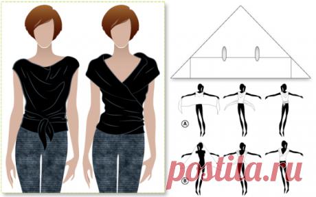 Просто топы Модная одежда и дизайн интерьера своими руками