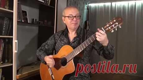 Поппури из советских песен на гитаре! Виртуоз!