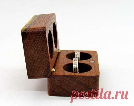 Wedding ring box Wood ring box Engagement ring box Unique wood