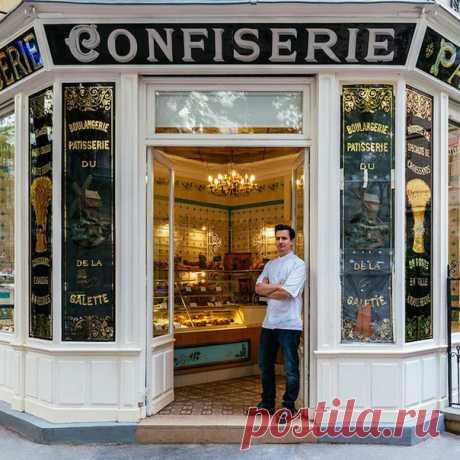 Фасады магазинов Парижа и их владельцы Автор Sebastian Erras