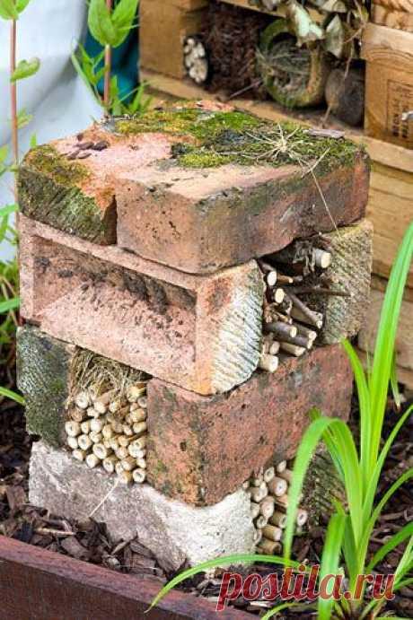20+ чудесных кирпичных дорожек и других способов использования кирпича, которые украсят ваш сад...