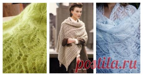 А вы любите вязаные палантины…вот вам схемы и видео с мастер-классами…идеи просто заглядение!  Все новое в моде было уже когда-то и просто вернулось, чтобы украсить гардероб современной женщины. Это касается и модного в XVIII-XIX веках палантина. Когда-то ажурный шарф согревал дам от холодов, …