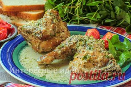 Цыпленок чкмерули по-грузински - рецепт с фото пошагово | Своими руками