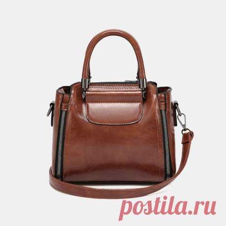 Women Retro Large Capacity Crossbody Bag Handbag Satchel Bag - US$39.99