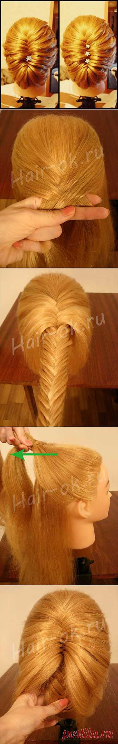 Hairdress fish cone