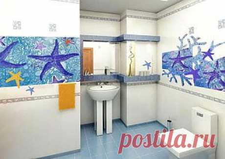 Оформление и дизайн туалета