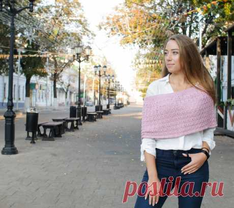 Ажурное болеро с открытыми плечами в разделе Вяжем сами на verena.ru