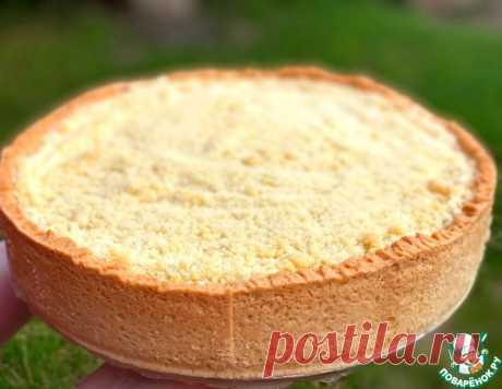 Пирог с творогом и вишней – кулинарный рецепт
