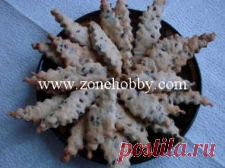 Крекер с льняными семечками (мастер-класс) - Зона Хобби