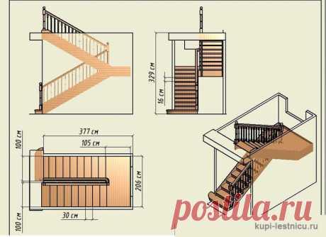Чертеж лестницы на второй этаж фото в