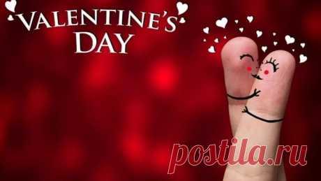 Красивое поздравление с днём Святого Валентина. Песня _С Днём Святого Валентина_. 14 ФЕВРАЛЯ!