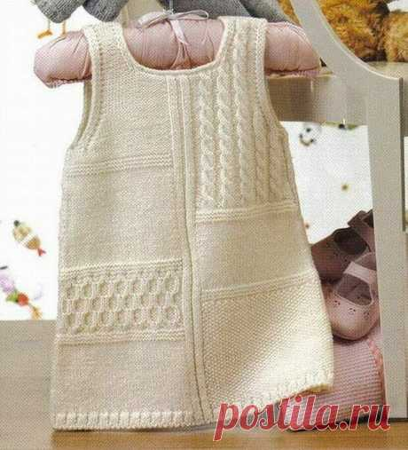 Сарафаны и платья для девочки спицами | Модное вязание | Яндекс Дзен
