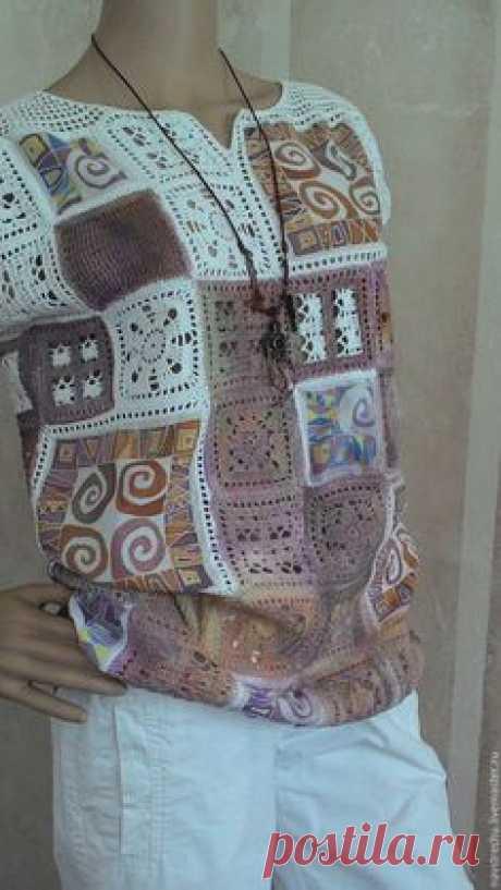 La túnica la PINTURA el algodón, la batista, el batik – comprar en la tienda de Internet sobre la Feria de los Maestros con la entrega la Túnica la PINTURA el algodón, la batista, el batik – comprar o encargar en la tienda de Internet sobre la Feria de los Maestros | Siempre es interesante recoger conjuntamente poco …