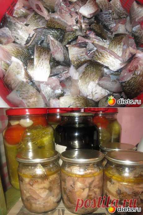 Мои рыбные консервы ( с рецептом): : Дневники - diets.ru И это моя работа !)))