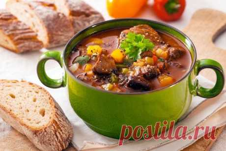 5 вкуснейших зимних супов!