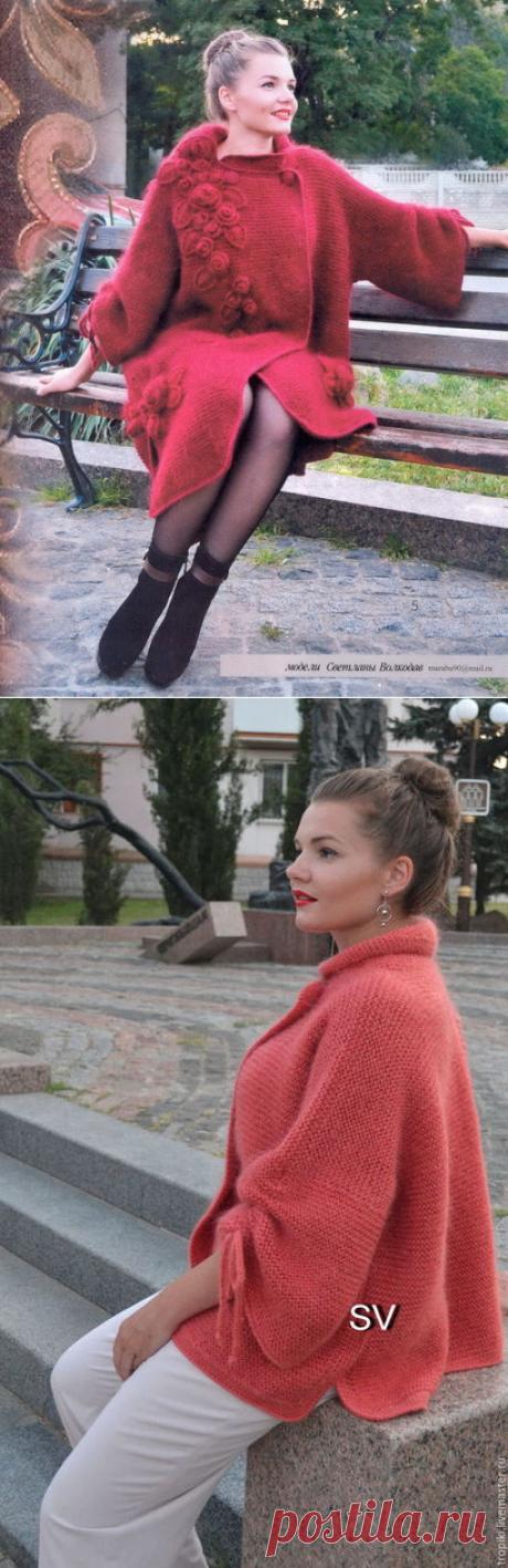 "Жакет по мотивам работ Светланы Волкодав (""Водопад из роз"")"