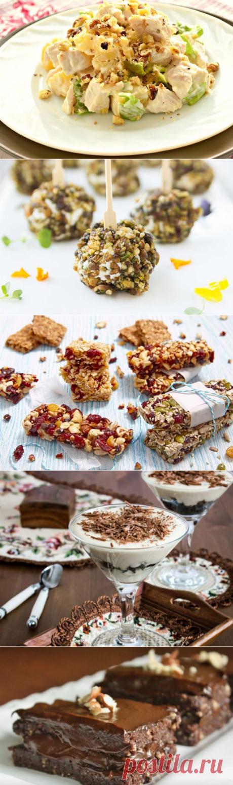 5 отличных блюд с орехами!