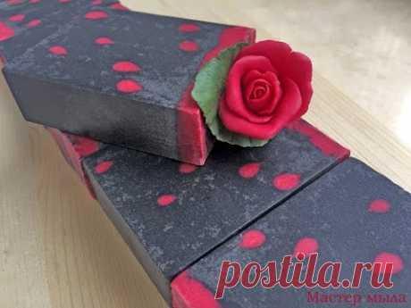 Мастер класс. Как сделать розу из мыла с нуля. (How to make a rose soap).