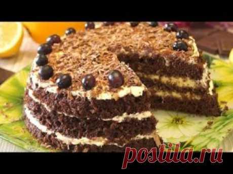 La Torta Más superrápida. ¡Se prepara en 15 minutos junto con la cocción!