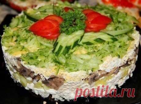 Как приготовить салат венеция - рецепт, ингредиенты и фотографии