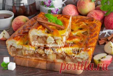 Дрожжевой яблочный пирог Яблочные пироги - один из самых вкусных вариантов домашней выпечки.