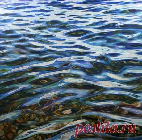 Картины с водой. Peter Goodhall