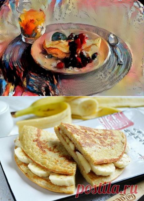 Популярный ПП-завтрак. Топ 5 вкусных начинок для овсяноблина | Похудеть-помолодеть | Яндекс Дзен