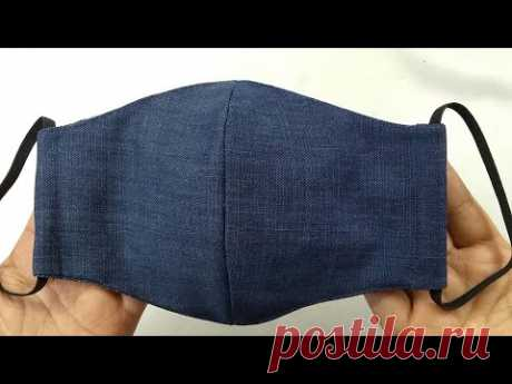 Face Mask Sewing Tutorial | How to make a Face Mask | Home made Face Cover | Cómo hacer mascarilla